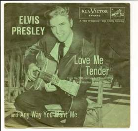 Elvis Presley - Love me tender (минус)